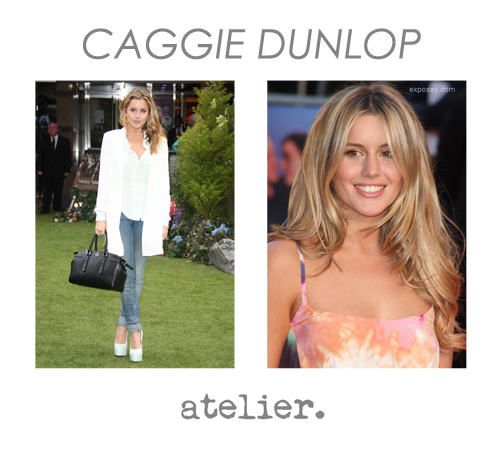 NOW REPRESENTING CAGGIE DUNLOP