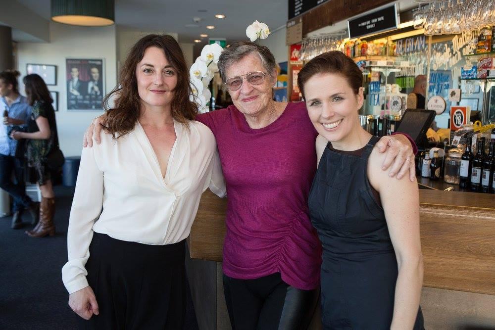 Janine Watson with Sandra Bates and Priscilla Jackman