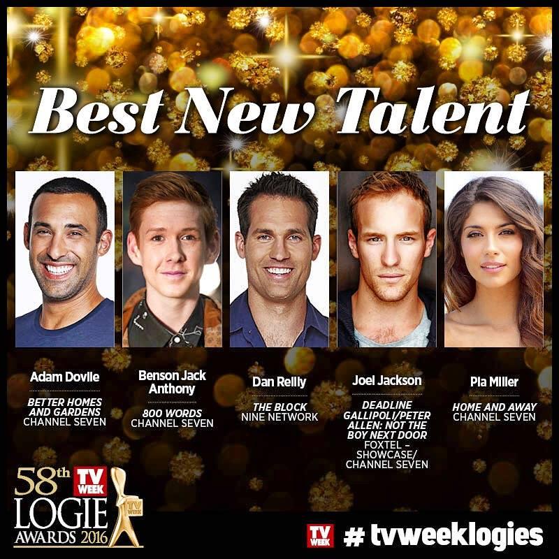 Best New Talent Logie Instagram
